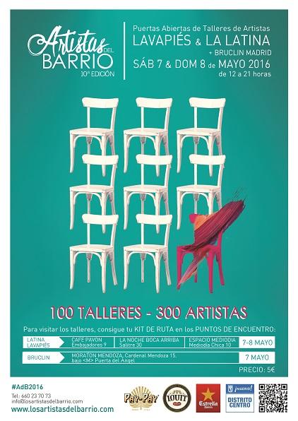 LOS ARTISTAS DEL BARRIO,  7 y 8 de Mayo