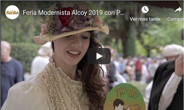 PAY-PAY en la Feria Modernista de Alcoy